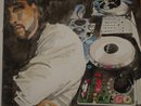 DJ Mr Favor: 20x30 watercolor