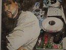 DJ Mr Favor: 20x30 watercolor