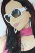 Diana: 20x30 watercolor
