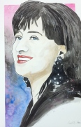 Basia: 20x30 watercolor