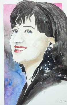 Basia: 20x30 watercolor