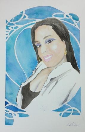 Janitza: 20x30 watercolor