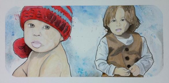 Massimo: 20x30 watercolor