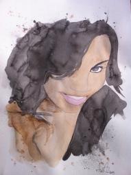 Fidi: 12x16 watercolor