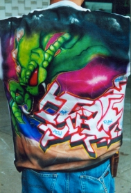Airbrushed Alien Graff