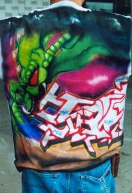 Airbrushed Alien Graff