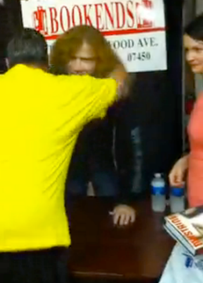 I hugged Dave Mustaine