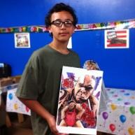 Joseph w his funky print