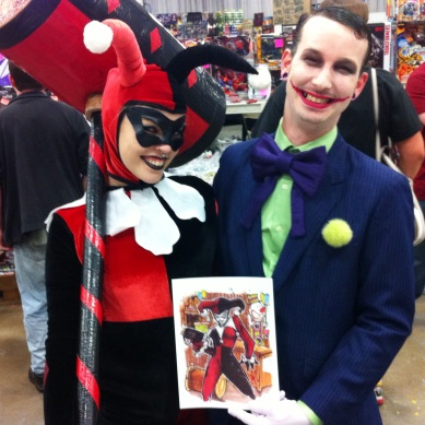 Harley & Mr. J Cosplayers