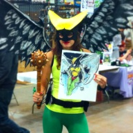 Hawkgirl Cosplayer