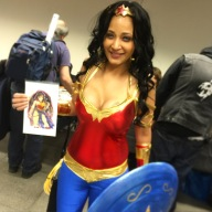 Wonder Woman Cosplayer